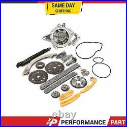 Timing Chain Kit Balance Shaft Water Pump for 00-08 Chevrolet Saturn Pontiac 2.2