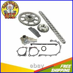 Timing Chain Kit Cover Gasket Set Water Pump Fits 99-06 Jeep Grand 4.0L OHV