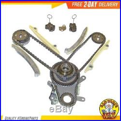 Timing Chain Kit Cover Gasket Set Water and Oil Pump Fits 02-08 Dodge 4.7L SOHC