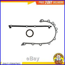 Timing Chain Kit Cover Gasket Set Water and Oil Pump Fits 94-98 Jeep Cherokee 4