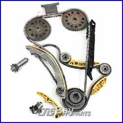 Timing Chain Kit Cover gasket Balance Shaft Water Pump For GM 2.0L 2.2L 2.4L