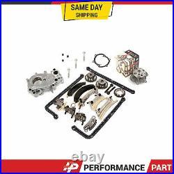 Timing Chain Kit Oil Pump GMB Water Pump for 07-16 Buick Cadillac Suzuki 3.6L