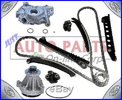 Timing Chain Kit + Oil Pump +genuine Original Water Pump For Ford F150-350 5.4l