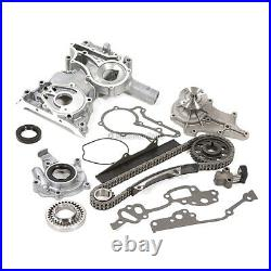 Timing Chain Kit Oil Water Pump Cover Fit 79-82 Toyota Pick Up 2.2 2.4 20R 22R
