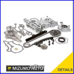 Timing Chain Kit Oil Water Pump Cover Fit 83-84 Toyota Pickup Celica 22R