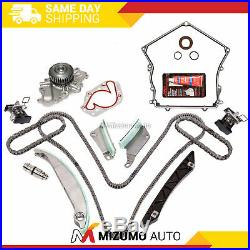 Timing Chain Kit Timing Cover Gasket Water Pump Fit 07-08 Dodge Chrysler 300 2.7