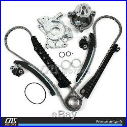 Timing Chain Kit (Updated Tensioners) Water Pump Oil Pump for 04-08 Ford 5.4L 3V
