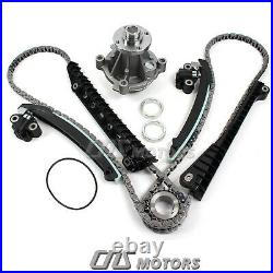 Timing Chain Kit (Updated Tensioners) Water Pump for 04-08 Ford Lincoln 5.4L 3V