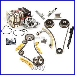 Timing Chain Kit VCT Selenoid Actuator Gear Water Pump Fit GM Ecotec 2.0L 2.4L