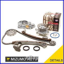 Timing Chain Kit Water Oil Pump Fit 00-06 Toyota Corolla Celica GTS Matrix 2ZZGE