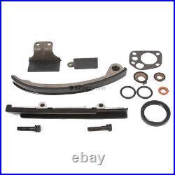 Timing Chain Kit Water Oil Pump Fit 91-99 Nissan 240SX 2.4L DOHC KA24DE 16V