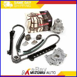 Timing Chain Kit Water Oil Pump Fit 97-01 Ford E F Series Truck 5.4L 2-Valve