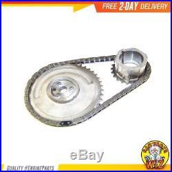 Timing Chain Kit Water Oil Pump Fits 99-04 Chevrolet Isuzu 2.8L 5.3L 6.0L Cu. 293