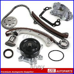 Timing Chain Kit Water, Oil Pump For 00-08 TOYOTA CHEVY PONTIAC 1.8L 1ZZFE VVT-i