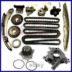 Timing Chain Kit Water & Oil Pump For Nissan Infiniti 3.5L VQ35DE Altima Maxima