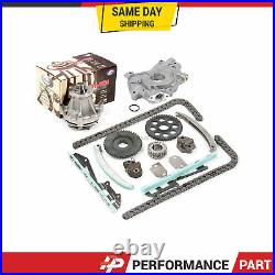 Timing Chain Kit Water Oil Pump for 97-02 Ford E150 F150 Explorer Expediton 4.6L