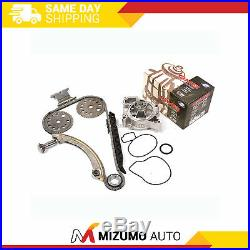 Timing Chain Kit Water Pump Fit 00-11 Chevrolet Pontiac Oldsmobile Saturn 2.2
