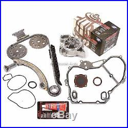 Timing Chain Kit Water Pump Fit 00-11 Chevrolet Saturn Pontiac Oldsmobile 2.2