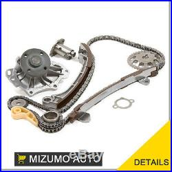 Timing Chain Kit Water Pump Fit 01-13 Toyota Camry Matrix Rav4 Scion 2.4 2AZFE