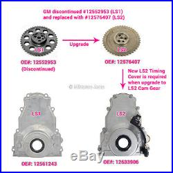 Timing Chain Kit Water Pump Fit 97-04 Cadillac Chevrolet GMC 4.8 5.3 6.0 VORTEC