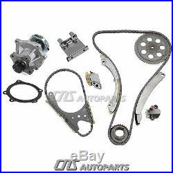 Timing Chain Kit + Water Pump Set For 02-07 GM Chevy GMC Isuzu 2.8L 3.5L 4.2L