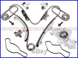 Timing Chain Kit+Water Pump fit 07-11 Ford Mercury 3.5L Lincoln Mazda 3.7L DOHC
