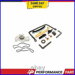 Timing Chain Kit Water Pump for 11-12 Ford Edge Explorer 3.5L 3.7L DOHC