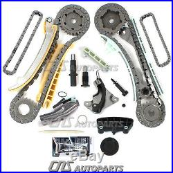 Timing Chain Kit with Gears + Water Pump Kit Fits 4.0L Ford Mazda Mercury SOHC V6