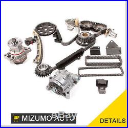 Timing Chain Kit with Water Pump & Oil Pump Fits Suzuki Chevy 2.5L 2.7L H25A H27A