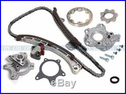 Timing Chain Water & Oil Pump Repair Kit 00-10 Toyota Scion 1.5L 1NZ-FE witho gear