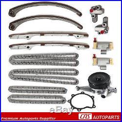 Timing Chain Water Pump Kit 02-09 Jaguar AJ NC PA AJ33 4.0L 4.2L Ford