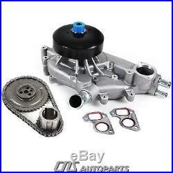 Timing Chain Water Pump Kit 99-04 Cadillac Chevrolet GMC 4.8L 5.3L 6.0L OHV V8