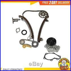 Timing Chain Water Pump Kit Fits 01-15 Toyota Rav4 2.0L 2.4L DOHC 16v 1AZFE