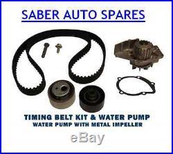 Timing/cam Belt Kit & Water Pump For Peugeot 2.0 Hdi 8v Diesel 00-07 1028