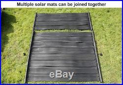 Total Solar Swimming Pool Hot Water Heater Mat PV Panel Pump Kit Free Sun Energy