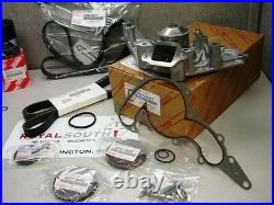 Toyota Land Cruiser Timing Belt Water Pump Tensioner Idler Pulley Kit Genuine OE