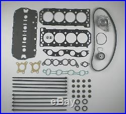 Uprated Head Gasket Set Bolts Timing Belt Kit Water Pump 25 45 75 200 400 16v