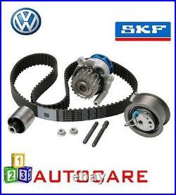 VW Golf Polo 1.9 TDI Engine Timing Belt Kit Water Pump Cambelt CAM Belt By SKF