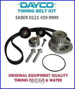 Vauxhall Zafira 1.6 16v 99-05 Timing Belt Kit Inc Water Pump Cambelt Brand New