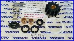Volvo Penta AQ120 AQ125 AQ131 AQ145 AQ151 Water Pump Rebuild Kit