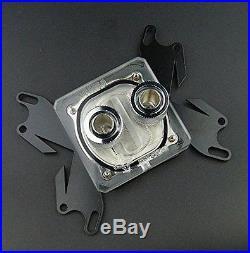 Water Cooling Kit 120 Radiator CPU NB GPU Block Pump Reservoir Tubing Blue LED