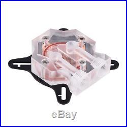 Water Cooling Kit 240 Radiator CPU GPU Block Pump Reservoir