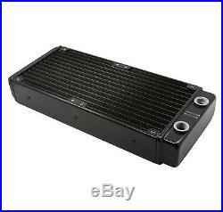 Water Cooling Kit 240 Radiator CPU GPU Block Pump Reservoir Tubing Flowmeter