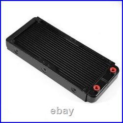Water Cooling Kit 240mm Radiator Pump Reservoir CPU Block Rigid Tube withRemote