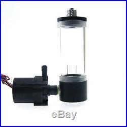 Water Cooling Kit Radiator CPU Block Pump Reservoir Tubing Tank LED Fan Heatsink