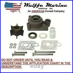 Water Pump Impeller Kit with Housing for Chrysler Force 115 125 140 hp FK1069
