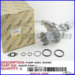 Water Pump Kit Assy Original Oem 16100-49847 For Toyota Supra 2jzgte L6 3.0l