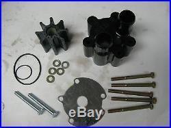 Water Pump Kit Mercruiser 200 230 260 350 357 383 4.3L 454 5.0L 5.7L 500 502 525