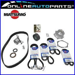 Water Pump, Timing + Fan Belt Kit suits Hilux LN106 LN111 LN130 LN86 3L 8897