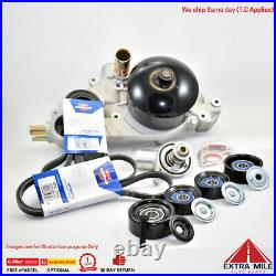 Water Pump belts and Pulleys for Commodore 5.7 V8 LS1 Gen3 VT VU VX VY WH WK WL